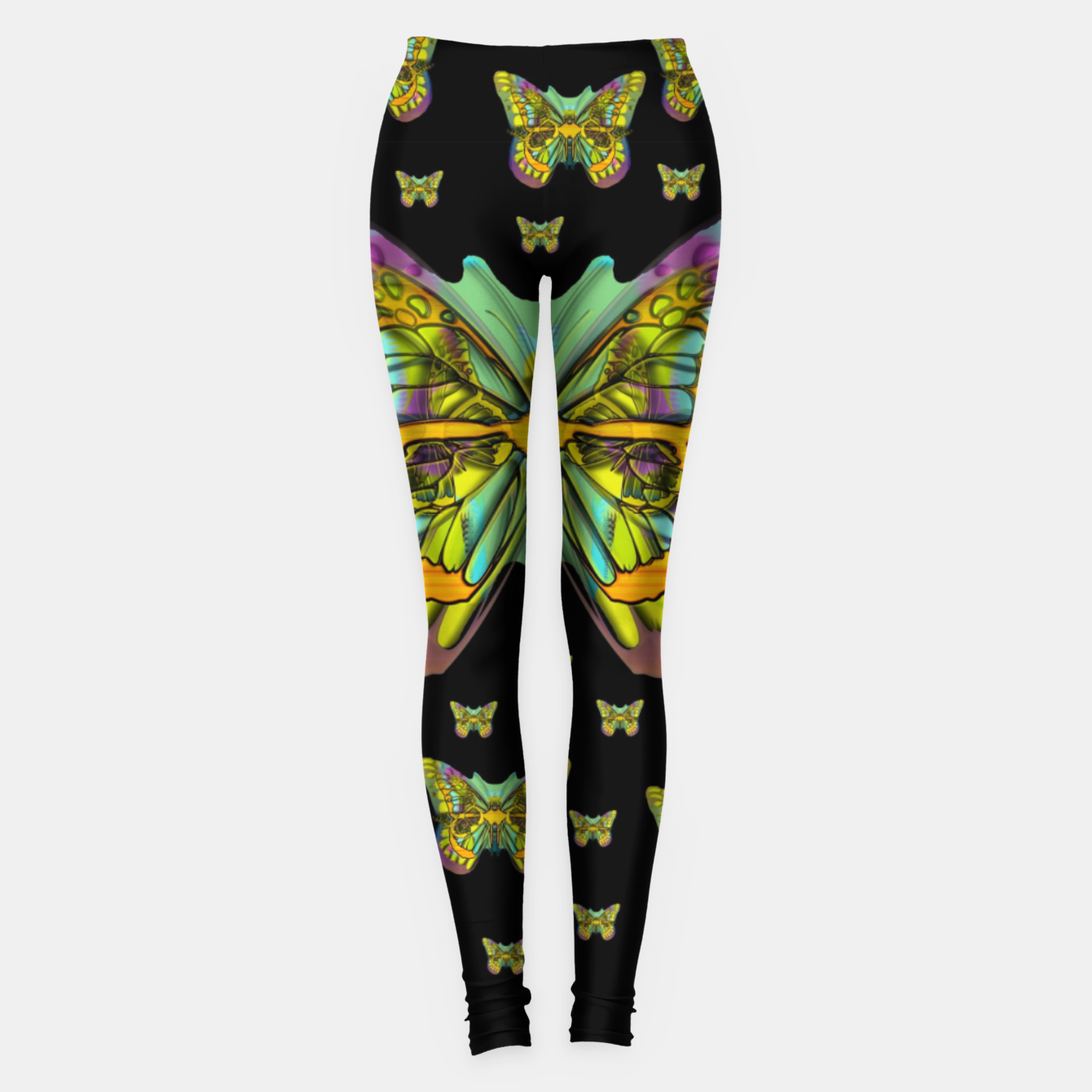 Foto butterflies with wings of freedom and love life Leggings - Live Heroes