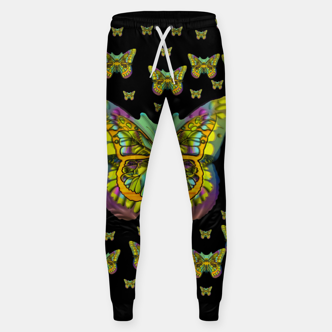 Foto butterflies with wings of freedom and love life Sweatpants - Live Heroes