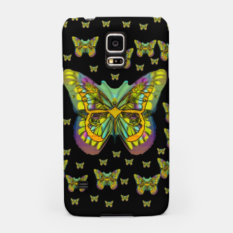 butterflies with wings of freedom and love life Samsung Case Bild der Miniatur