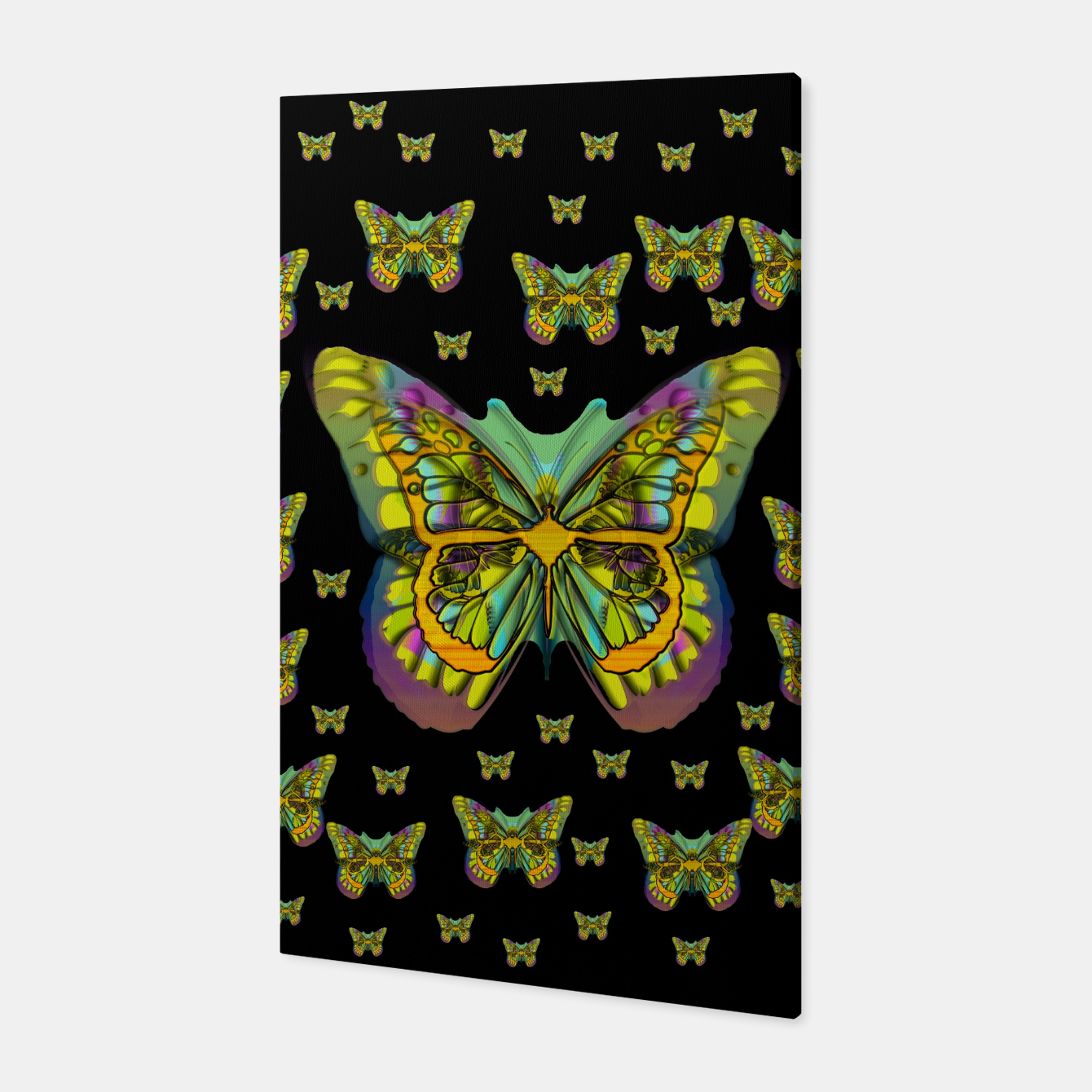 Foto butterflies with wings of freedom and love life Canvas - Live Heroes