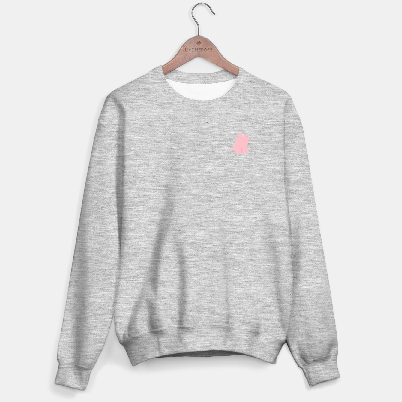 Image of Rosa the Pig Minimal Scratching Sweater regular - Live Heroes