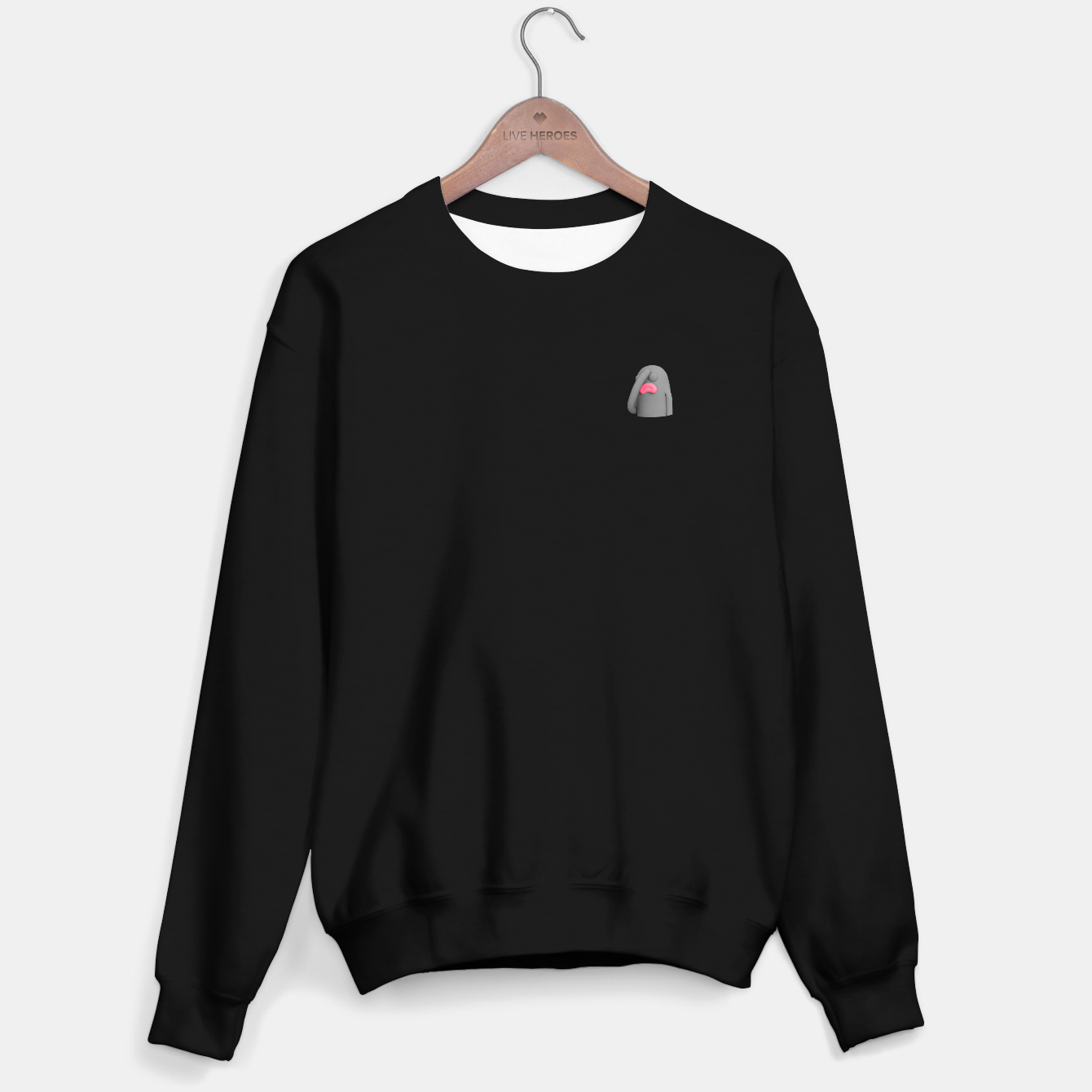 Image of Lars FacePalm Sweater regular - Live Heroes