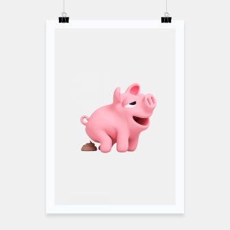 Thumbnail image of Rosa the Pig Poops Poster, Live Heroes