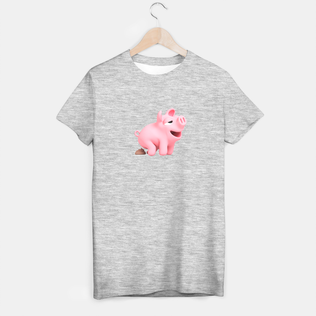 Image of Rosa the Pig Poops T-shirt regular - Live Heroes