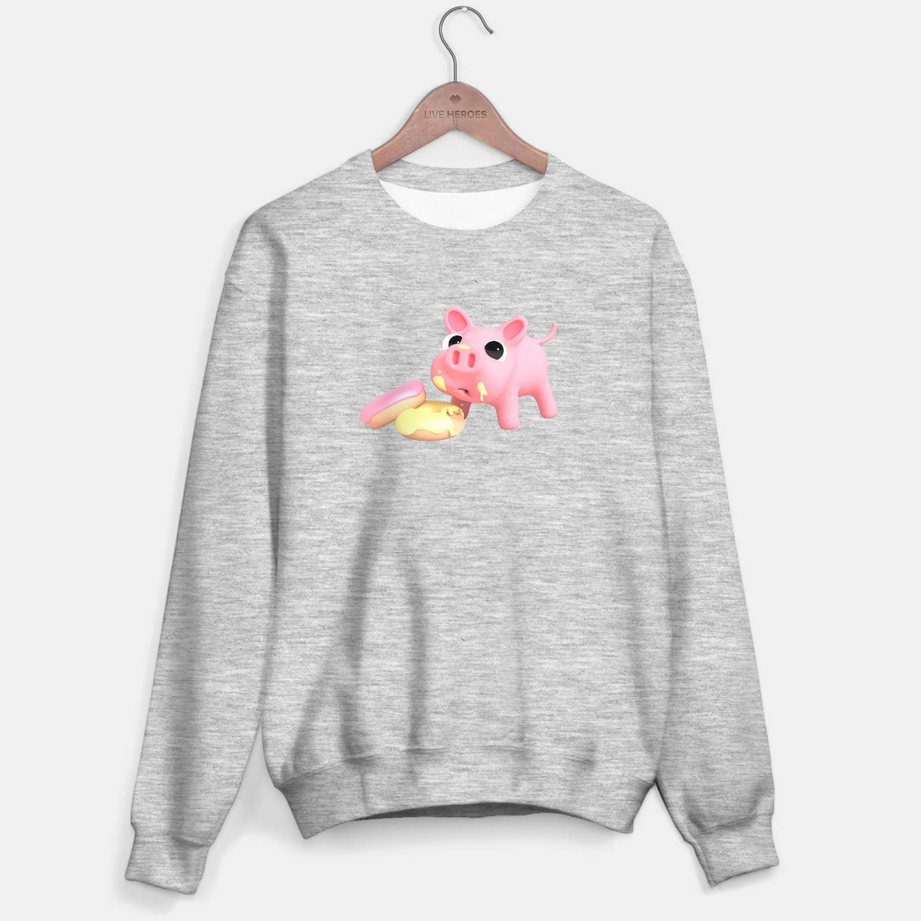 Image of Rosa the Pig Donuts Sweater regular - Live Heroes