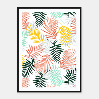 Thumbnail image of Palm Crush Framed poster, Live Heroes