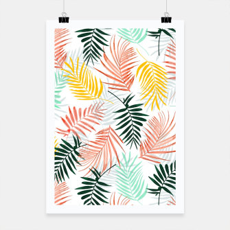 Thumbnail image of Palm Crush Poster, Live Heroes