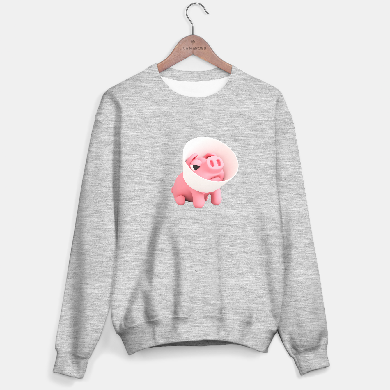 Image of Rosa the Pig Shame Cone Sweater regular - Live Heroes