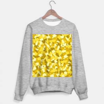 Thumbnail image of Painterly Camo in Sunshine Sweater regular, Live Heroes