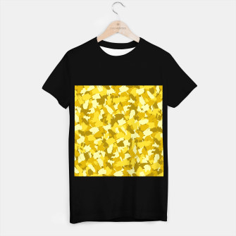 Thumbnail image of Painterly Camo in Sunshine T-shirt regular, Live Heroes