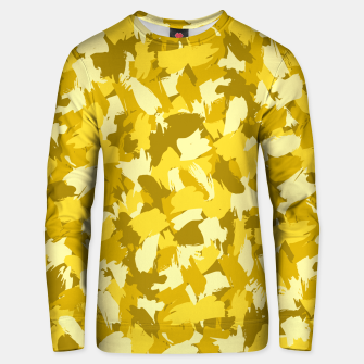 Thumbnail image of Painterly Camo in Sunshine Unisex sweater, Live Heroes