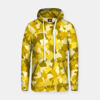 Thumbnail image of Painterly Camo in Sunshine Hoodie, Live Heroes
