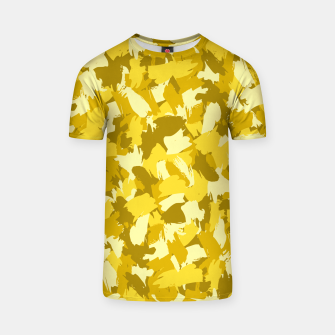 Thumbnail image of Painterly Camo in Sunshine T-shirt, Live Heroes