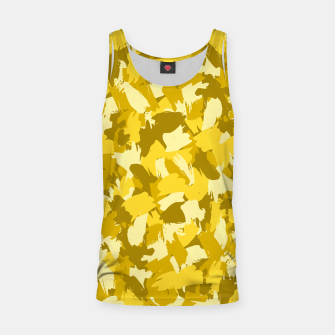 Thumbnail image of Painterly Camo in Sunshine Tank Top, Live Heroes