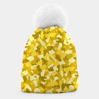 Thumbnail image of Painterly Camo in Sunshine Beanie, Live Heroes