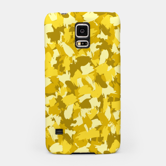 Thumbnail image of Painterly Camo in Sunshine Samsung Case, Live Heroes