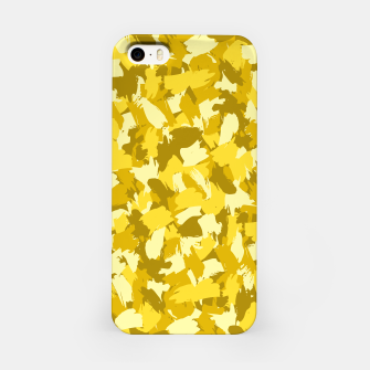 Miniatur Painterly Camo in Sunshine iPhone Case, Live Heroes