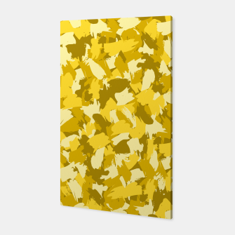 Miniatur Painterly Camo in Sunshine Canvas, Live Heroes