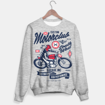 Miniaturka Garage inc - Motorclub South West Sweater regular, Live Heroes