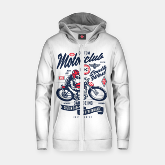 Miniaturka Garage inc - Motorclub South West Zip up hoodie, Live Heroes