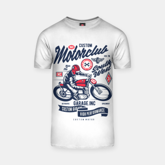 Miniaturka Garage inc - Motorclub South West T-shirt, Live Heroes