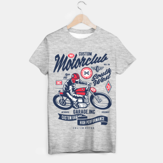 Miniaturka Garage inc - Motorclub South West T-shirt regular, Live Heroes