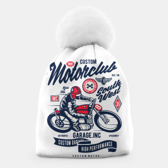 Miniaturka Garage inc - Motorclub South West Beanie, Live Heroes