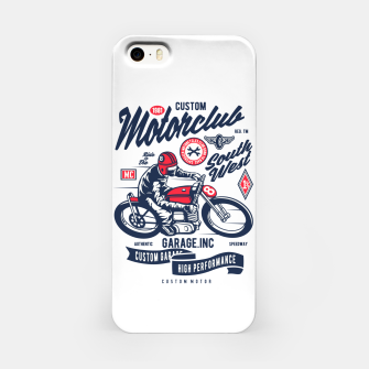 Miniatur Garage inc - Motorclub South West iPhone Case, Live Heroes