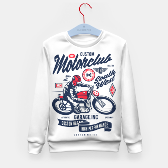 Miniaturka Garage inc - Motorclub South West Kid's sweater, Live Heroes