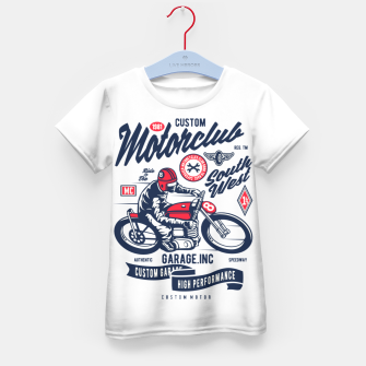 Miniaturka Garage inc - Motorclub South West Kid's t-shirt, Live Heroes