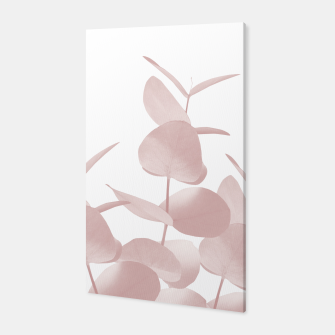 Thumbnail image of Eucalyptus Leaves Blush White #1 #foliage #decor #art Canvas, Live Heroes