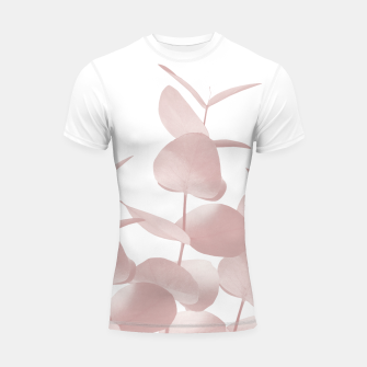 Thumbnail image of Eucalyptus Leaves Blush White #1 #foliage #decor #art Shortsleeve rashguard, Live Heroes