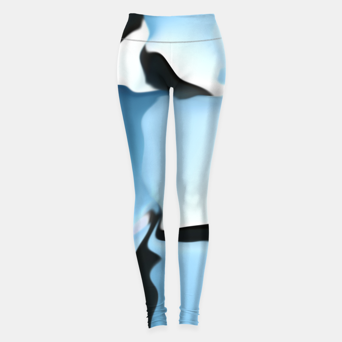 Image of Blue camouflage Leggings - Live Heroes