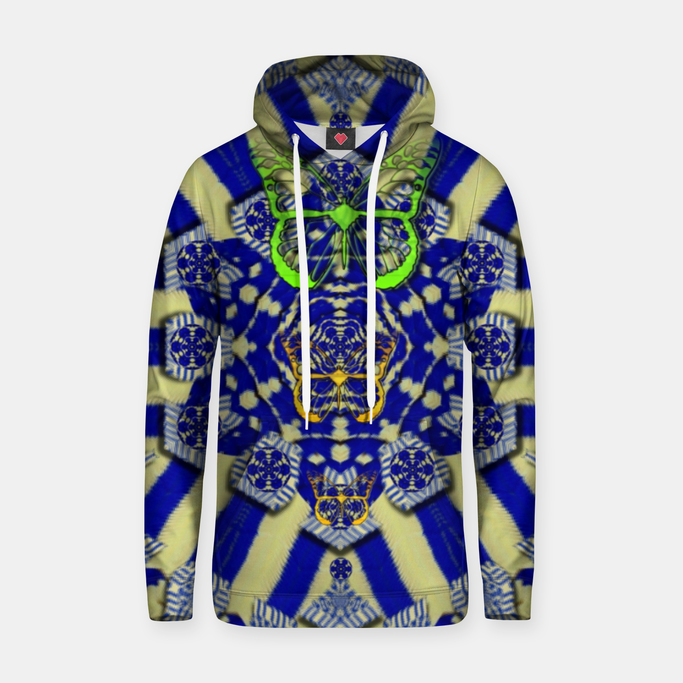 Foto Wood flower and matches with butterflies Hoodie - Live Heroes