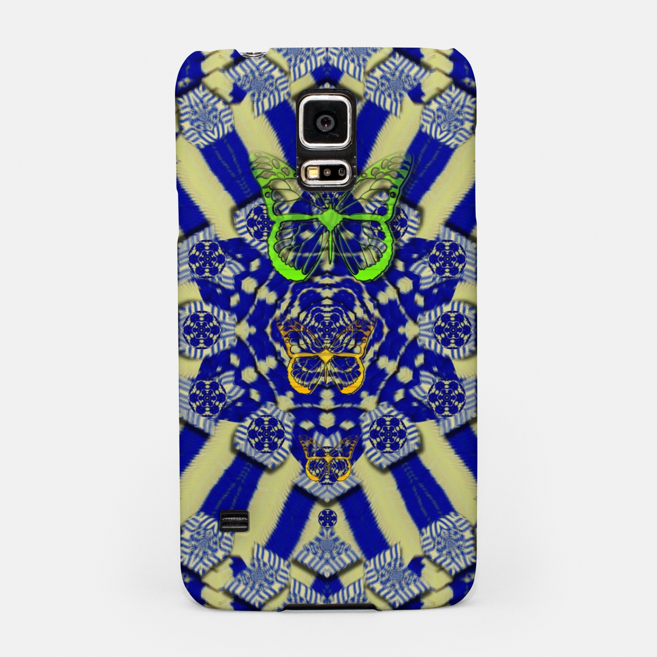 Foto Wood flower and matches with butterflies Samsung Case - Live Heroes