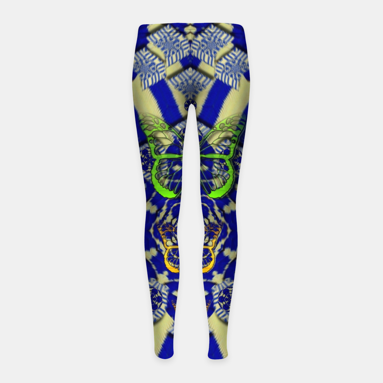 Foto Wood flower and matches with butterflies Girl's leggings - Live Heroes