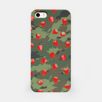 Miniaturka Kawaii Strawberry Camo WOODLAND iPhone Case, Live Heroes