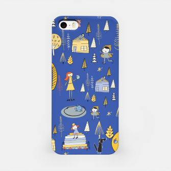 Thumbnail image of Wonderland Fairy Tale Blue iPhone Case, Live Heroes