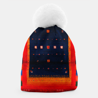 Miniatur Heritage Traditional Bohemian Moroccan Artwork  Beanie, Live Heroes