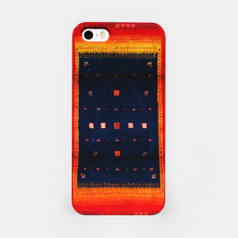 Heritage Traditional Bohemian Moroccan Artwork  iPhone Case thumbnail image