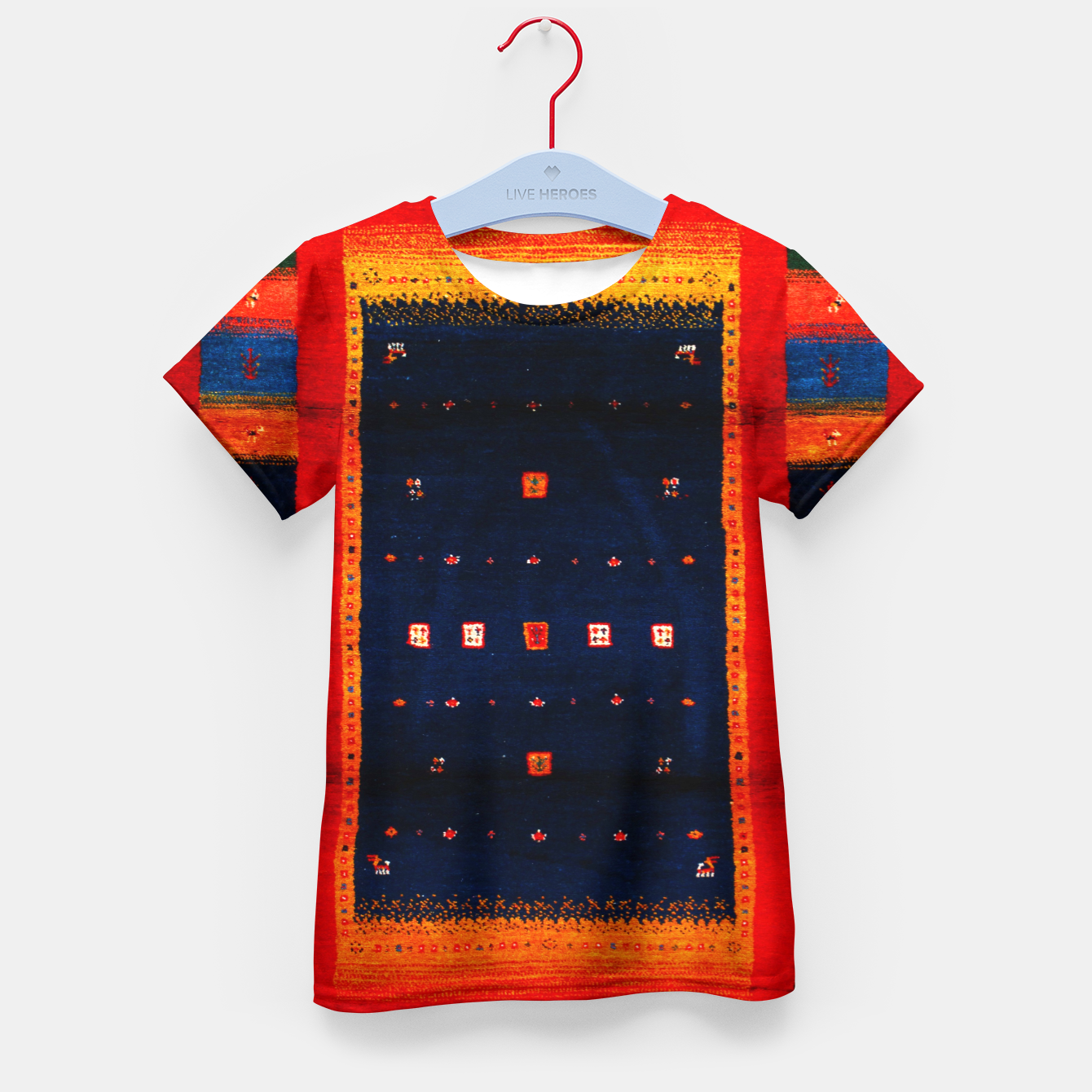 Image of Heritage Traditional Bohemian Moroccan Artwork  Kid's t-shirt - Live Heroes