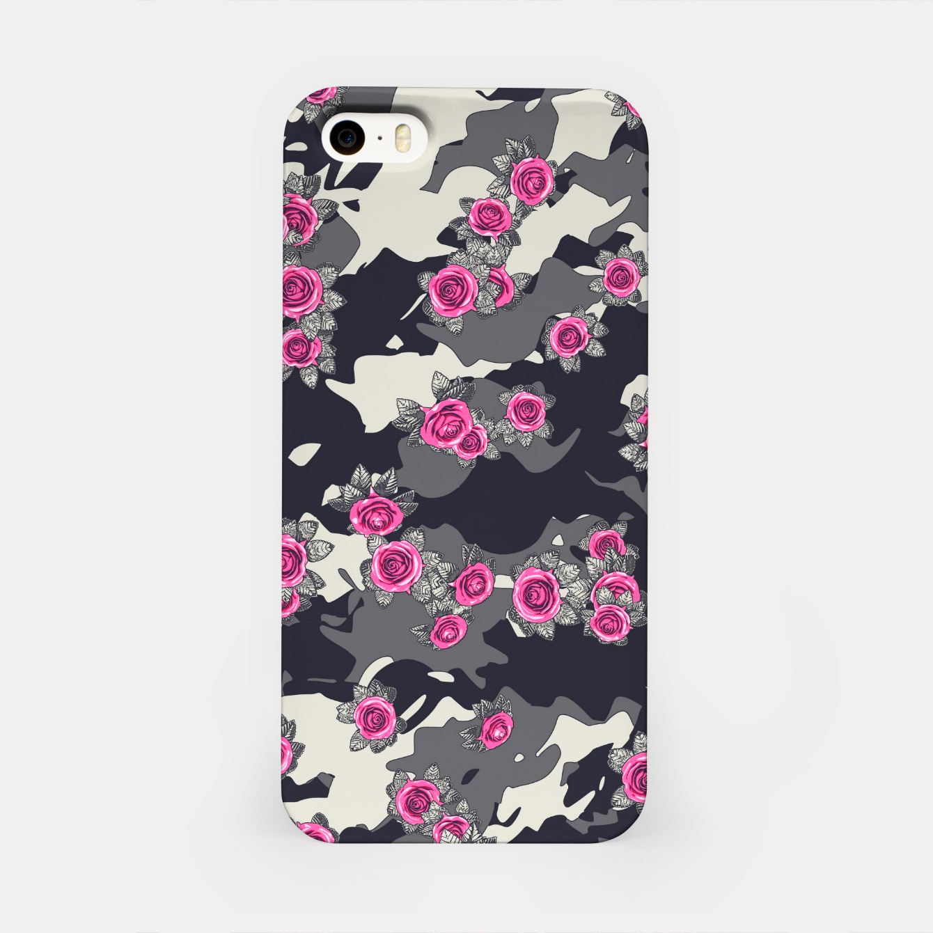 Foto Roses Pink Camo URBAN VINTAGE iPhone Case - Live Heroes
