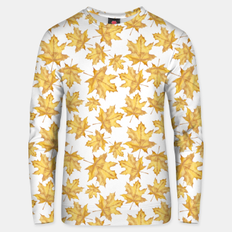 Thumbnail image of Autumn maple leaves Unisex sweater, Live Heroes