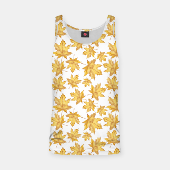 Thumbnail image of Autumn maple leaves Tank Top, Live Heroes