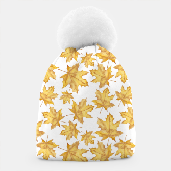 Thumbnail image of Autumn maple leaves Beanie, Live Heroes