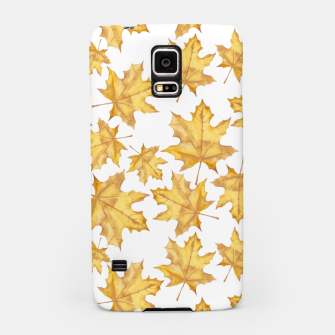 Thumbnail image of Autumn maple leaves Samsung Case, Live Heroes