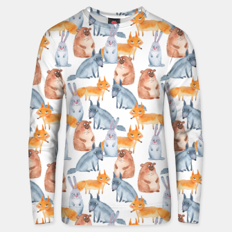 Miniatur Forest animals Unisex sweater, Live Heroes