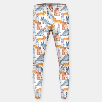 Miniatur Forest animals Sweatpants, Live Heroes