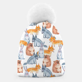 Miniatur Forest animals Beanie, Live Heroes
