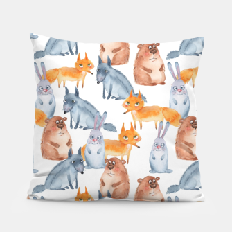 Miniatur Forest animals Pillow, Live Heroes